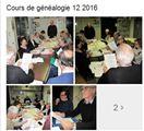 Cours de généalogie - décembre 2016