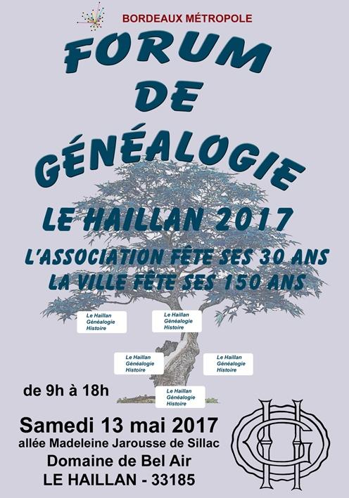 Forum de Généalogie Le Haillan