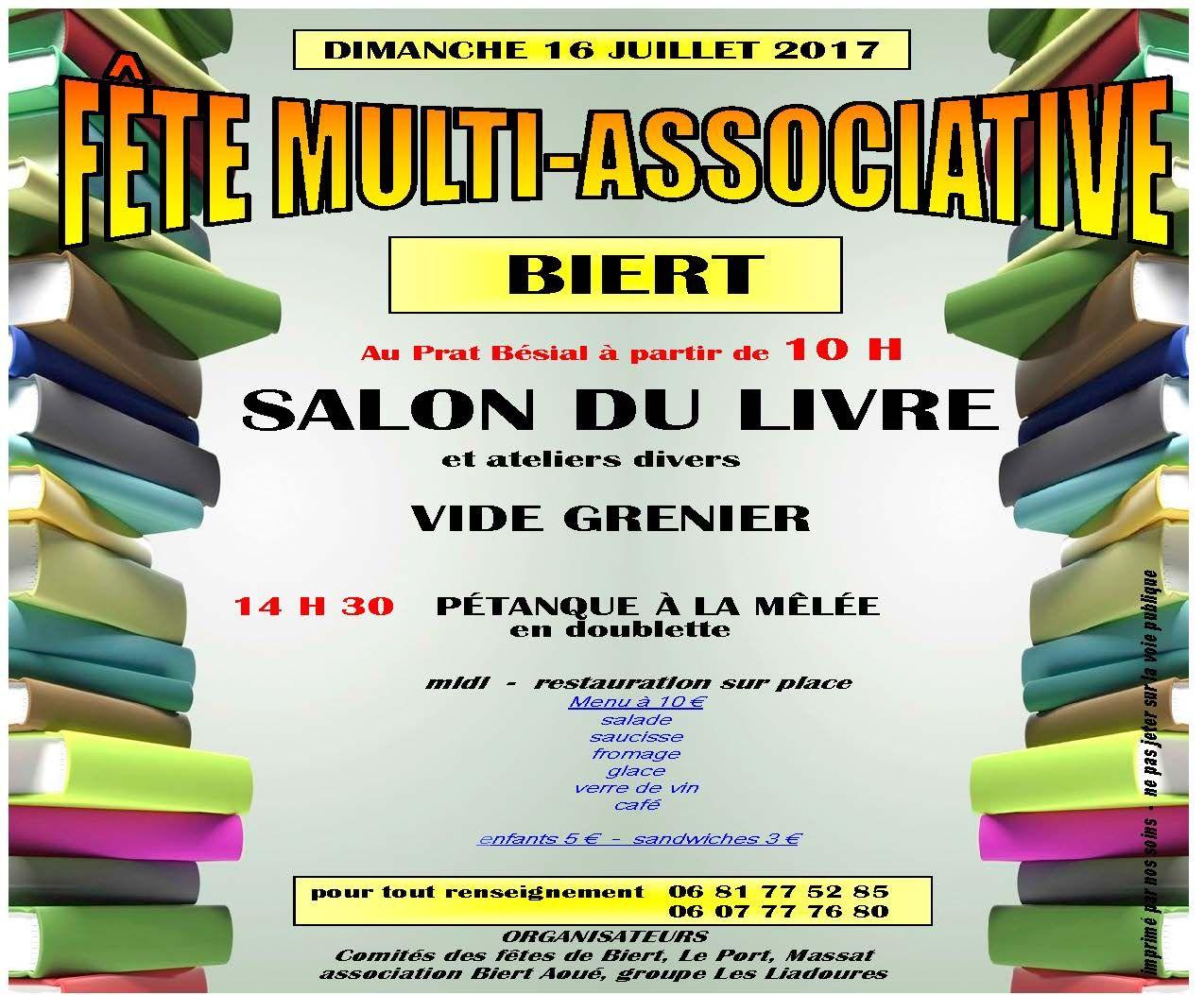 Salon du livre à  Biert