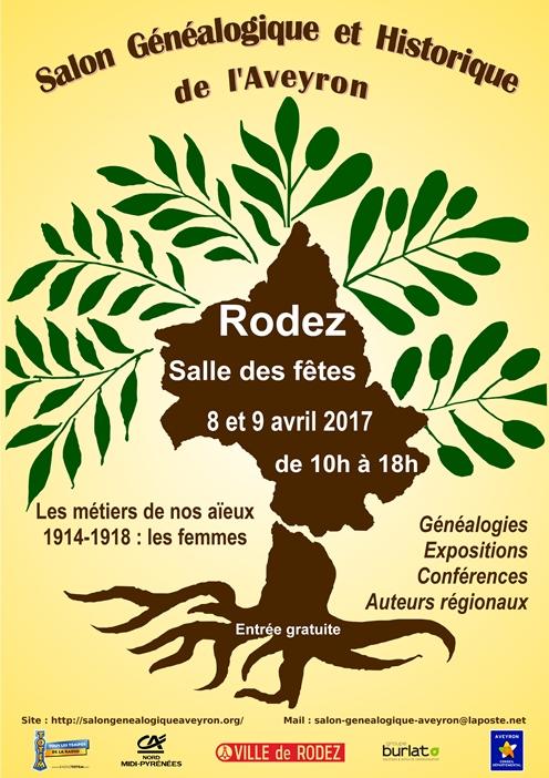 Salon de la généalogie à Rodez