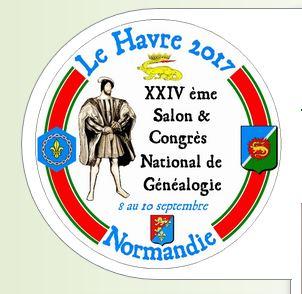 """Salon de la généalogie *Le Havre - Normandie"""""""
